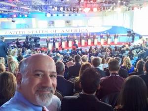 Rabbi at Republican Presidential Debates