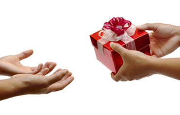 Image result for gift giving images