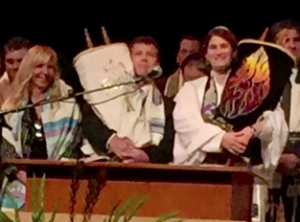 Brad Halpern with Torah