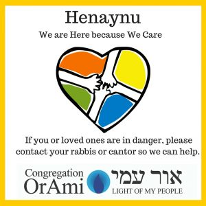 Henaynu, We are Here because We Care