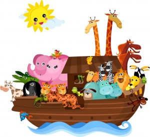 Noah's Ark Decal