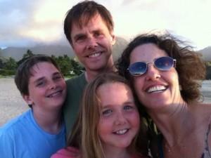 Shelly Hiskey and Family