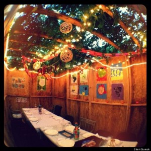 beautiful sukkah