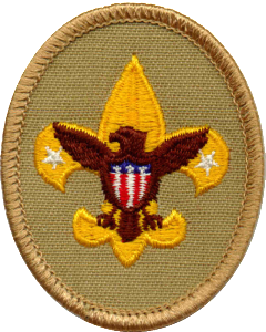 boy scouts badge