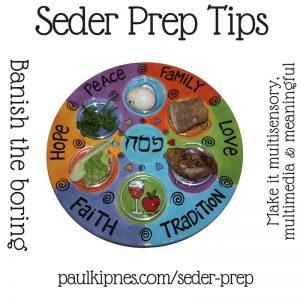 Seder Prep Tips